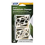 Camco 51077 Deluxe Table Cloth Clamp - Pack of 4