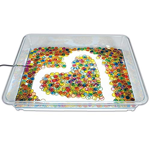 Light Panel Exploration Tray for Translucent Accessories or Water