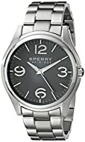 Sperry Top-Sider Men's 10017169 Boat Life Analog Display Japanese Quartz Silver Watch from Sperry Top-Sider Watches MFG Code