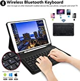 "iPad 10.5 Keyboard Case with Pencil Holder for iPad Air 3 2019/iPad Pro 10.5"" 2017,Magnetically Bluetooth Keyboard,iPad Case with Detachable Keyboard"