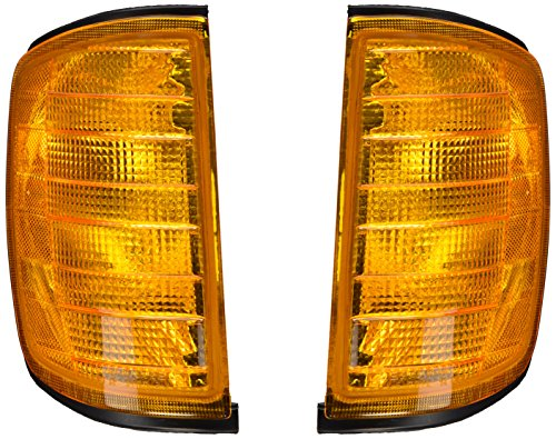 Depo 340-1504L-AS Mercedes-Benz E-Class Driver Side Replacement Parking/Signal Light Assembly ()