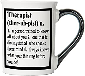 Therapist Mug, Therapist Coffee Cup, Therapist Funny Mug, Therapist Gifts By Tumbleweed
