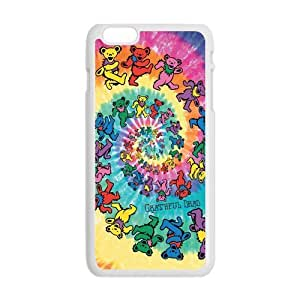 Grateful Dancing Bear Case Cover for Personalized Case for Personalized iphone 6 (Laser Technology) Screen iPhone Strong Protect Case-02