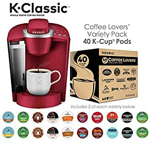 Keurig K-Cafe Milk Frother, Works with all Dairy and Non-Dairy Milk