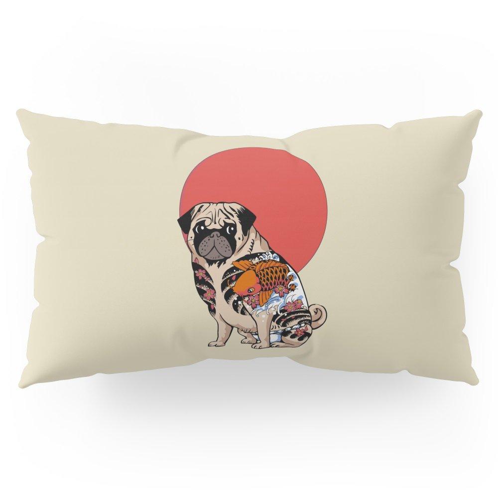 Society6 Yakuza Pug Pillow Sham King (20'' x 36'') Set of 2 by Society6