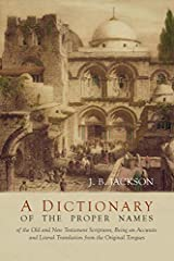 """2016 Reprint of 1909 Edition. Full facsimile of the original edition, not reproduced with Optical Recognition Software. """"There are about 3500 words in the Bible that most of us can't understand because their meaning is not translated into Eng..."""