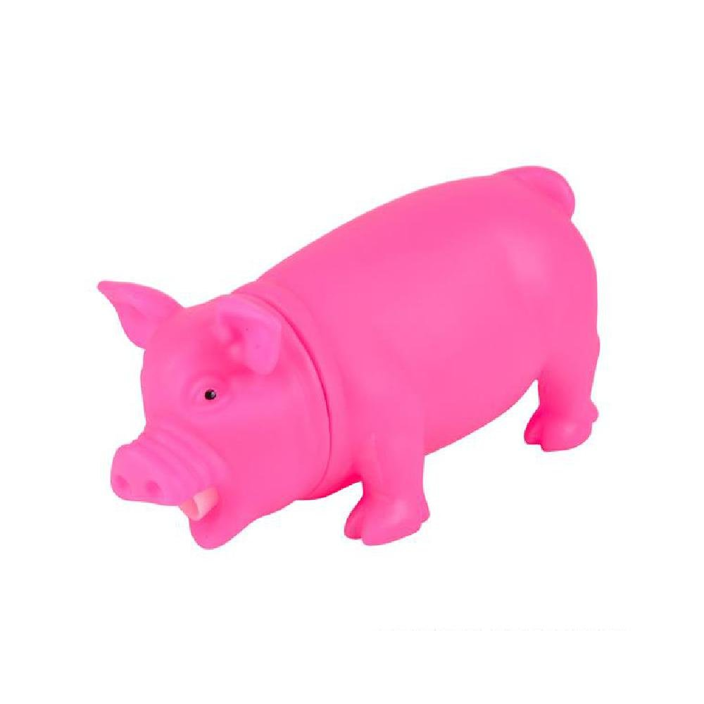 8'' Pink Snorting Pig (With Sticky Notes)