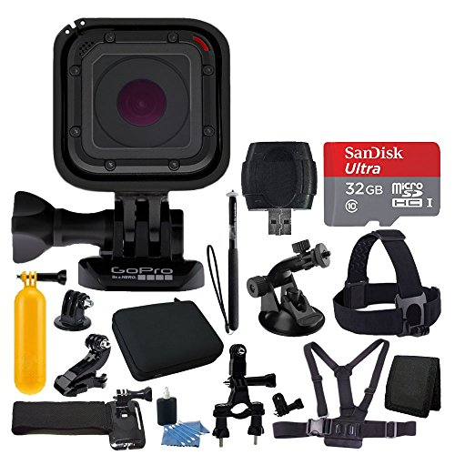 gopro-hero-session-medium-carrying-case-head-strap-chest-strap-hand-strap-floating-handle-32gb-micro