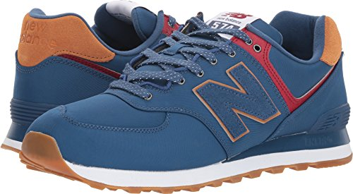 los angeles 615c3 0c000 New Balance Men's Ml574v2 Shoe,Blue,9.5 2E US
