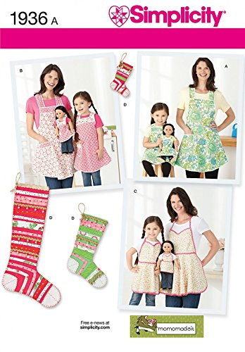 Amazon.com: Simplicity Ladies & Girls Easy Sewing Pattern ...