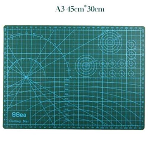 Sewing Tools & Accessory - A3 Pvc Rectangle Grid Lines Double Sided Available Self Healing Cutting Mat Fabric Leather Paper - Tools Craft Tool Leather Cutting