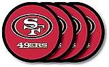 San Francisco 49ers Coaster 4 Pack Set