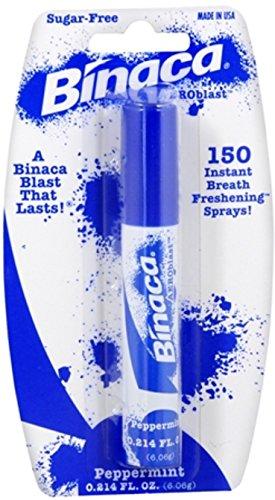 (Binaca Aerosol Breath Spray PepperMint 0.20 oz)