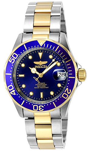 Invicta Men's 8928 Pro Diver Collection Two-Tone Stainless Steel Automatic - Stainless Bracelet Analog