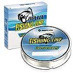 SAPLIZE Fluorocarbon Coated Nylon Fishing Line
