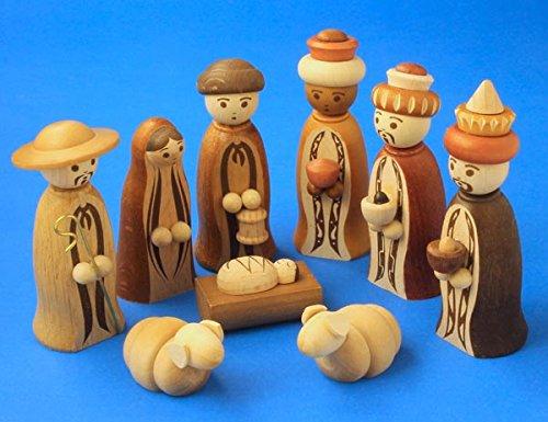 Zeidler Nativity Set Wise Men Shepherd Medium Made for sale  Delivered anywhere in USA