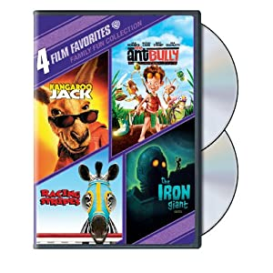 4 Film Favorites: Family Fun (The Ant Bully, The Iron Giant: Special Edition, Kangaroo Jack, Racing Stripes) (2011)
