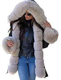 (Tm) Winter Clothes Loose in the Long Paragraph Slim Coat