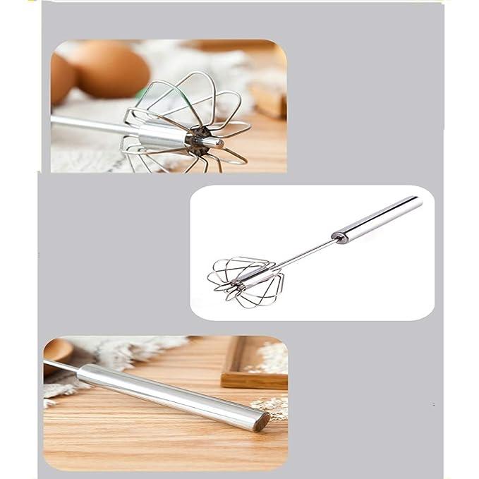 MYQ Batidor, batidora eléctrica no doméstica Whip Mini batidora de Cocina Manual batidora Manual Batidores Manuales: Amazon.es