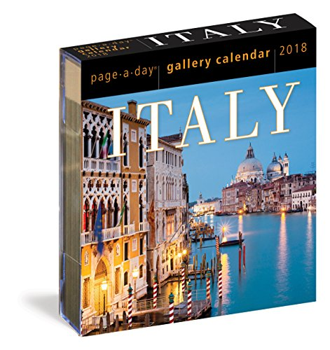 Italy Page-A-Day Gallery Calendar 2018 cover