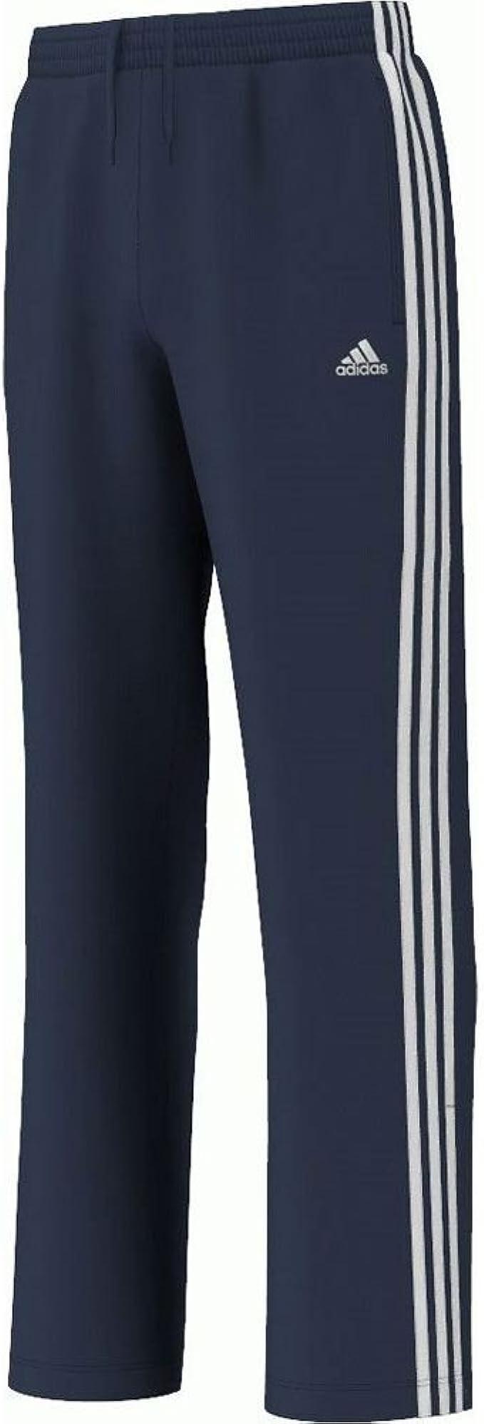 adidas Essentials 3 Rayas Junior Chándal Pantalones Azul Azul ...