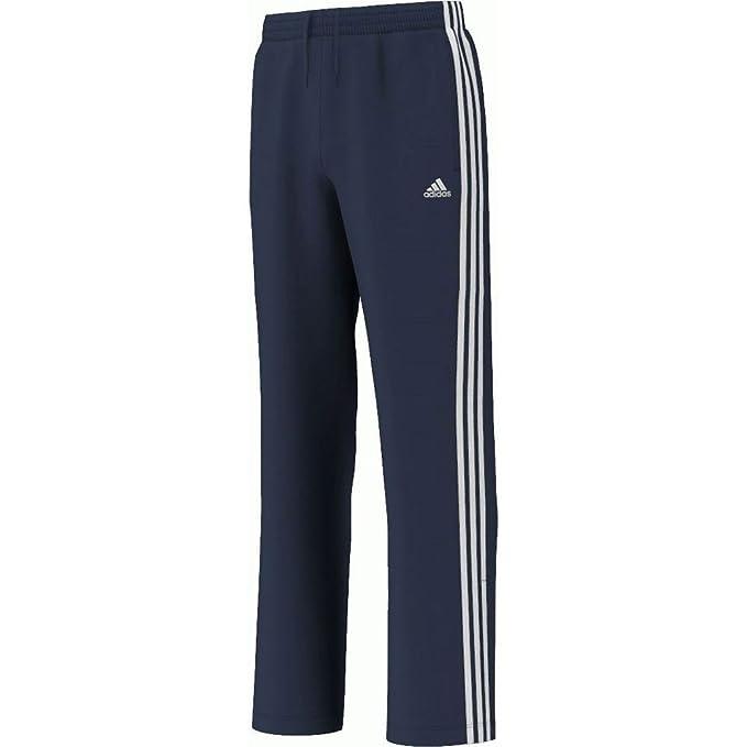 3 Pantalones Essentials Azul Rayas Marino Junior Adidas Chándal TKlJF1c