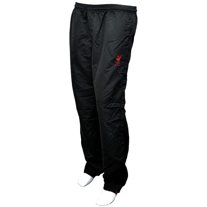 Liverpool FC - Pantalones de chándal oficiales con el escudo del club para hombre caballero (