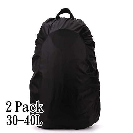 2PCS AYAMAYA Waterproof Pack Rain Cover (35-40 L) Backpack Rucksack Book Bag 4a1b6fd2d0