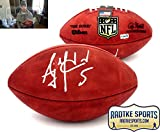 AJ McCarron Autographed/Signed Cincinnati Bengals Wilson Authentic NFL Football