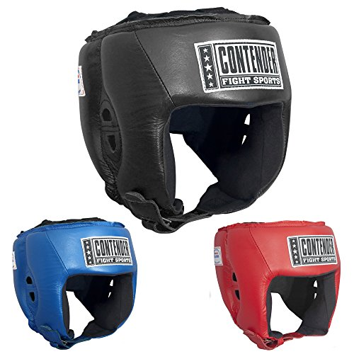 Contender Fight Sports Competition Boxing Muay Thai MMA Sparring Head Protection Headgear Without Cheeks – DiZiSports Store