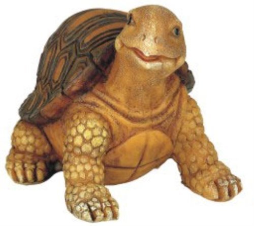 StealStreet SS-G-61051 Turtle Garden Decoration Collectible Tortoise Figurine Statue Model (Shell Turtle Snapping)