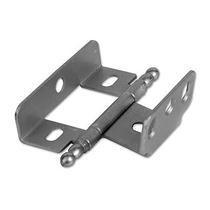 Hardware Resources 128 Full Inset Adjustable Wrap Cabinet Door Hinge