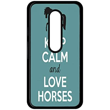 Carcasa Motorola Moto G 3 Keep Calm caballos: Amazon.es ...