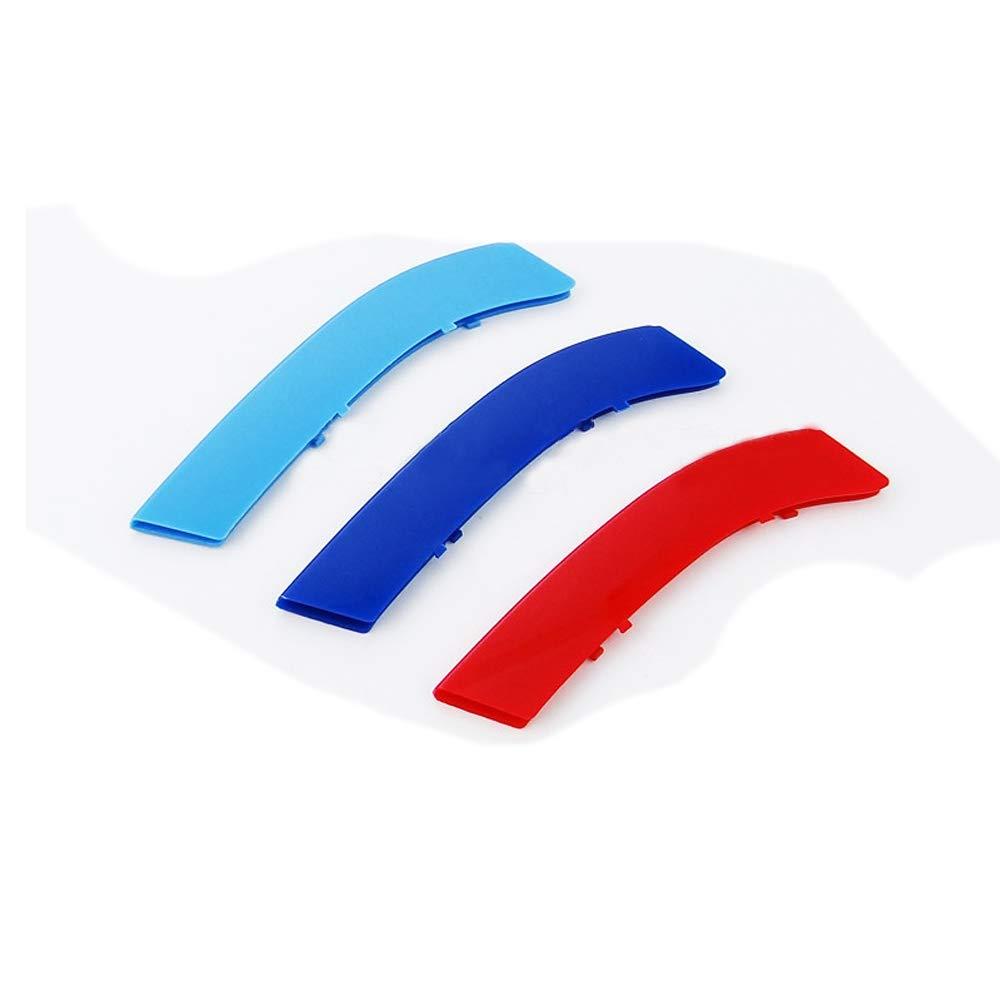 M-Colore Franjas Decorativas para Parrilla Delantera para 3 Series E92 E93 2 Doors 318i 320i 325i 328i 330i 335i 320d 325d 2009-2012 3 Piezas 13 Varillas