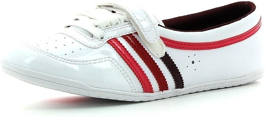 Adidas concord round w cuir blanc femme chaussure ballerine