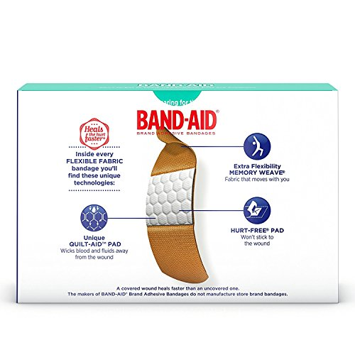 Johnsons Band-aid Flex Fabric Travel Pack - 8 Count Ea. - 12 Packs by Band-Aid (Image #6)