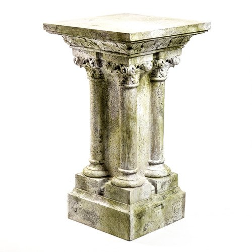 XoticBrands OSFS7572 Vitor 42 (Columns) -Pedestal Sculpture by XoticBrands