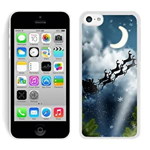 Personalized iphone 4/4s iphone 4/4s TPU Case Santa Claus Black iphone 4/4s iphone 4/4s Case 18
