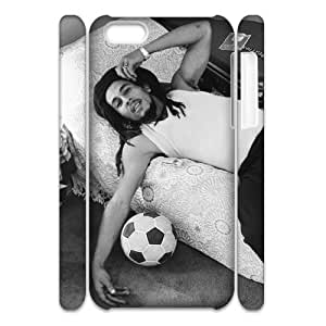 Iphone 5C 3D Customized Phone Back Case with Bob Marley Image