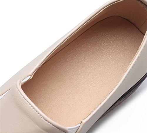 Zapatos De Pu Oxford Mocasines Suela Talla 35 Plataforma A Xie 42 Mujer Elástica dO54nw
