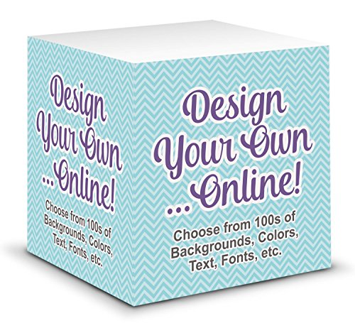 - Design Your Own Sticky Note Cube (Personalized)