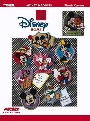 - Mickey Unlimited -- Magnets In Plastic Canvas (Leisure Arts #1870)