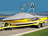 7 oz Solution Dyed Polyester Material Custom Exact FIT Boat Cover SKI Supreme/Supreme V 226 W/Wake AIR Tower W/O SWPF W/Strap System 2010-2012