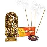 Vedic Vaani Lord Kartikeya Statue with Murugan Incense Sticks
