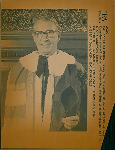 Vintage photo of Donaldson who will chair a public inquiry into the Braer oil tanker disaster.