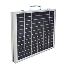 ECO-WORTHY 40Watt Portable Kits 40W Folding PV Solar Panel 12V RV Boat Off Grid W 3A Charge Controller