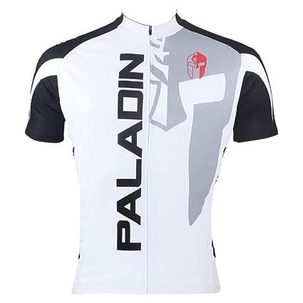 dc5e505c2 PaladinSport Men s Knight Short Sleeve Mountain Bike Clothing Top Asian  Size S