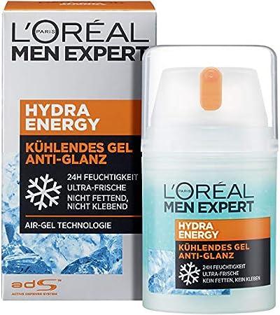L'Oreal Men Expert - Quenching Hydra Energetic Maxi - Cuidado Anti-Fatiga Hombres - 50 ml