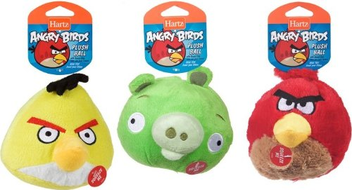 Angry Birds Toys With Sound : Hartz angry birds quot plush ball with sound chip dog toy