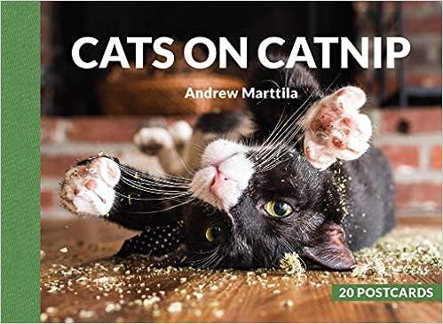 Cats On Catnip 20 Postcards Andrew Marttila 9780762467280